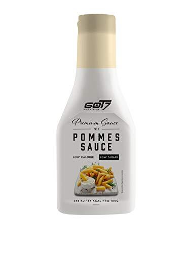 Got7 Premium Sauce - Kalorienfreie Grill, Burger und Würz Sauce - Perfekt zum Abnehmen - 285 ml (Pommes Sauce, 285 ml)