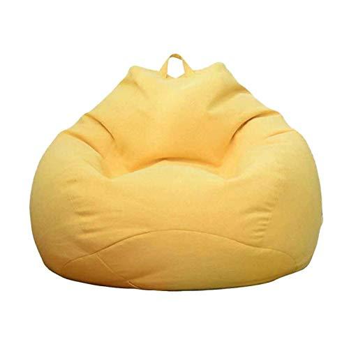 Copripoltrona per poltrona a sacco per divano, senza imbottitura, per interni ed esterni, per soggiorno, per adulti e bambini