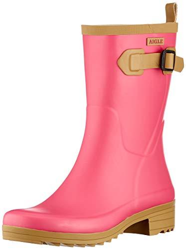 Aigle Women's Aigline Rain Boot, Sweet, 2 UK