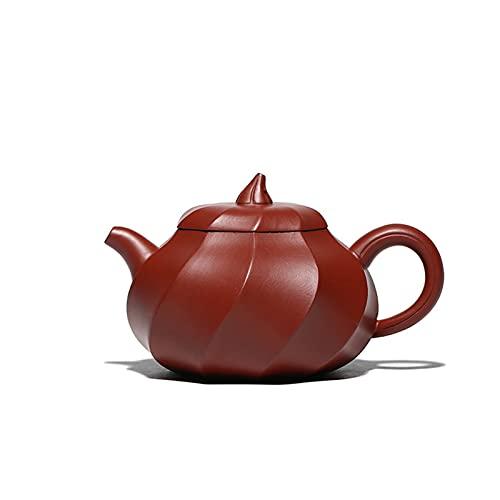 DLRBWAN Tetera Tetera de Arcilla púrpura Zisha Set de té Hecho a Mano Té Bebiendo Huanglongshan Mud Dahongpao Cultura Hecha a Mano