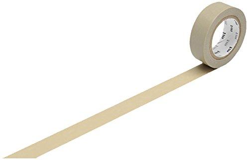 mt Washi Masking Tape Klebebandrolle beige