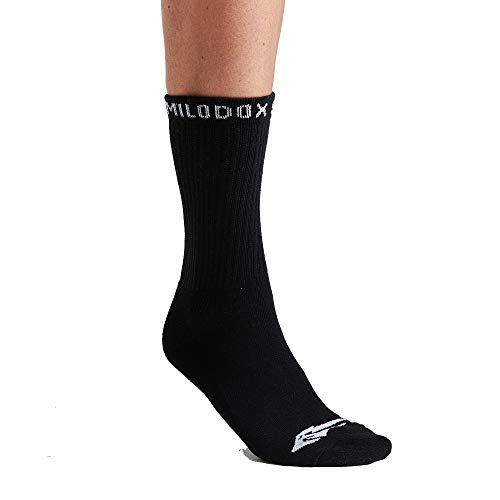 SMILODOX Damen Tennissocken 3er Pack I Socken für Sport & Freizeit mit Print, Größe:39-42