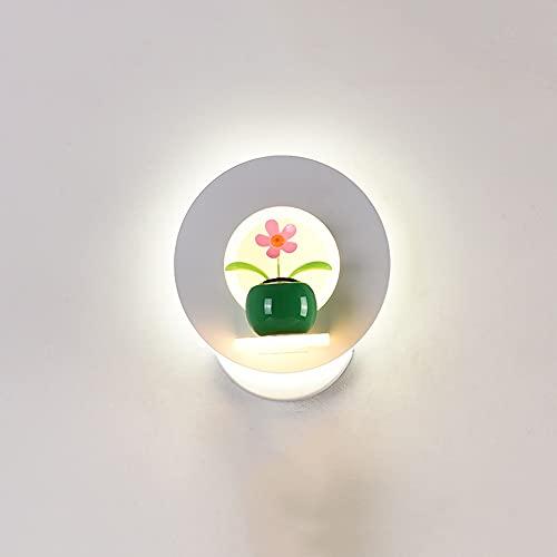 GLBS 25W LED Forma Redonda Montaje En La Pared Aisle Aisle Sala De Estar Salidas De La Pared Luz De Pared Hierro Forjado Lámpara De Pared De Acrílico Inicio Business Iluminación De Accesorios