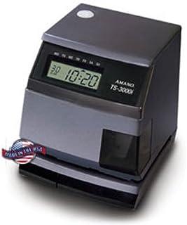 Amano TS-3000i Automatic Time Sync Web Clock