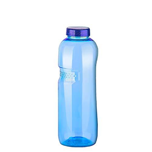 Tritan Trinkflasche - Wasserflasche - Sport - Fahrrad - Fitness - BPA-frei (1,0L Trinkflasche)