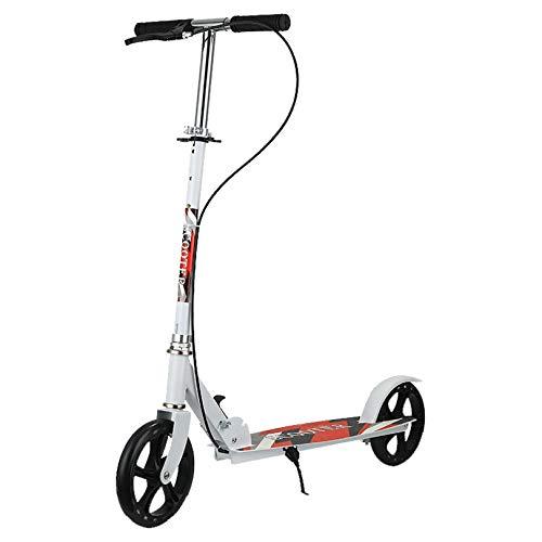 WUDAXIAN Tablero de Viaje para Scooter con Manillar Ajustable, Ligero, Plegable, para Viajes y Viajes, Sistema de Plegado rápido, Scooter