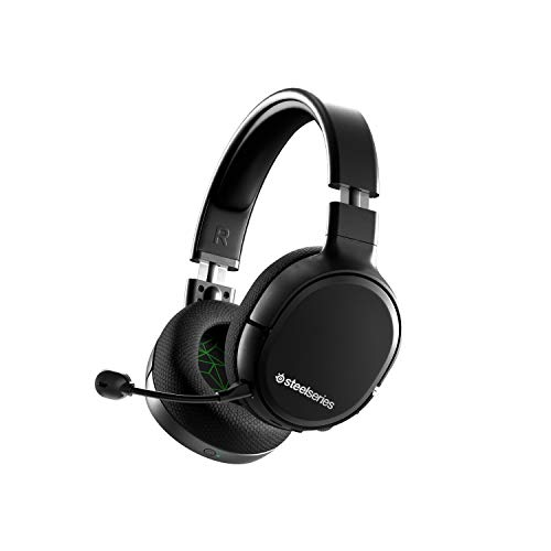 SteelSeries Arctis 1 Wireless Gaming Headset for Xbox – USB-C Wireless – Detachable ClearCast Microphone – for Xbox One, Series X, PS4/PS5, PC, Nintendo Switch and Lite, Android