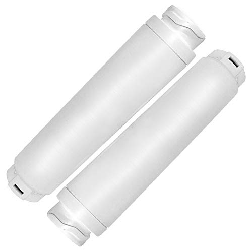 Spares2go - Cartucho de filtro de agua compatible con Rangemaster refrigerador, equivalente a 644845 WF25 BWF644 KWF1000 RF280019 FI50Z000 (paquete de 2)