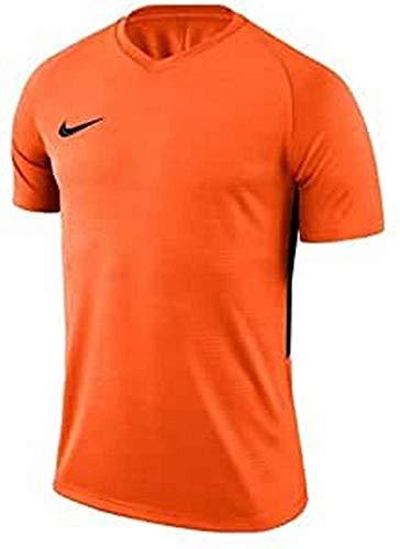 NIKE Tiempo Premier SS - T-shirt - Homme -Orange - XL