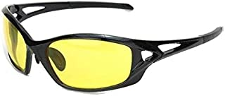 AD Sports Unisex Night Vision Glasses for Sports & Driving ,Glare-free,UV400 ,PC Frame (Black)