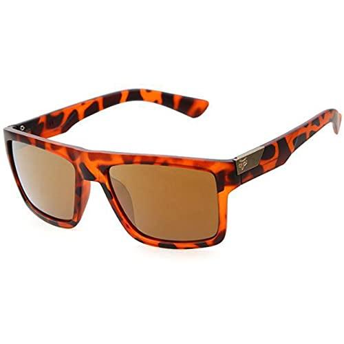 Q4S Gafas De Sol Cuadradas De Gran Tamaño para Hombres Y Mujeres, Deportes Al Aire Libre, Gafas De Sol Reflectantes De Colores Uv400,C