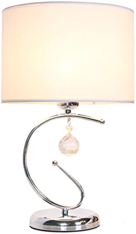 Hotel Schreibtischlampe Moderne kreative kristall tischlampe taste schalter augenschutz led schreibtischlampe schlafzimmer nachttischlampe dekoration e27