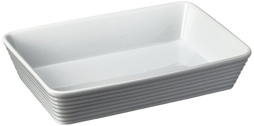 Küchenprofi 07 5011 82 30 Burgund Plat de cuisson Porcelaine Blanc 30 x 15 x 10 cm
