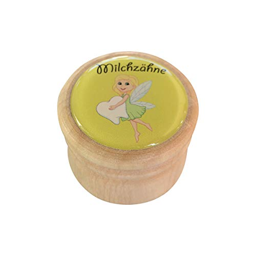 Gico Milchzahndose aus Holz - Zahnfee