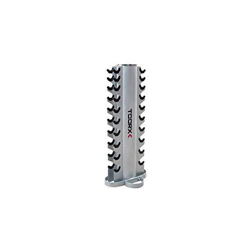 toorx rastrelliera porta manubri rpm-10 (10 coppie)