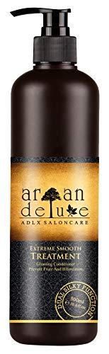 Argan Deluxe Repair & Care extreme treatment Haarkur gegen Spliss, Frizz & Haarbruch in Friseur-Qualität 500 ml - Intensivkur für seidig-weiches Haar