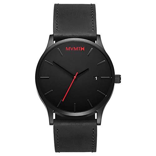 MVMT Herren Analog Quarz Uhr mit Leder Armband D-L213.5L.551