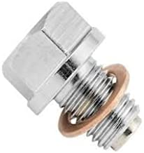 Oil Drain Plug Bolt Screw Magnetic With O Ring Copper Crush Washers For BMW 12 mm x 1.5 mm