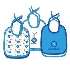 SSC Napoli A14k1n9028 Lätzchen, Unisex, für Kinder, Hellblau, Einheitsgröße