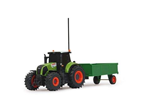 RC Auto kaufen Traktor Bild 5: Jamara 403702 - RC Claas Axion 850 1:28 mit Holzanhänger inklusive Fernsteuerung*