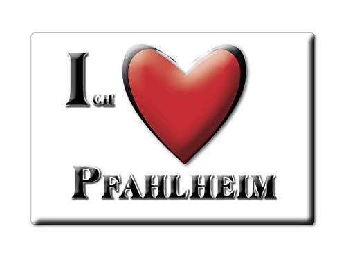 Enjoymagnets PFAHLHEIM (BW) Souvenir Deutschland Baden WÜRTTEMBERG Fridge Magnet KÜHLSCHRANK Magnet ICH Liebe I Love