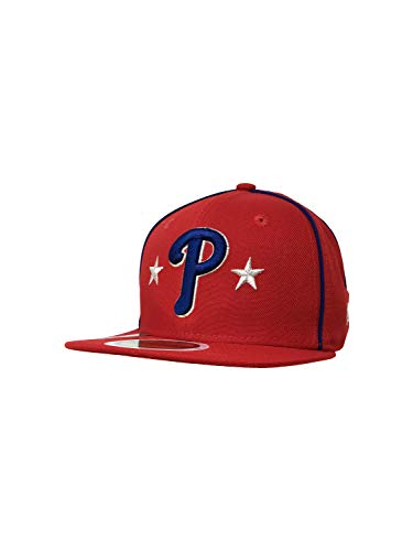New Era Philadelphia Phillies 59Fifty Fitted Hat MLB Flat Bill Baseball Caps 5950 -  mehrfarbig -  6.375