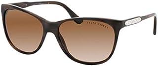 رالف لورين نظارات شمسية للنساء، لون العدسة بني، LAUREN8120