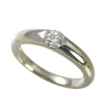 婚約指輪 ケース付 ダイヤモンド プラチナ 0.3カラット 鑑定書付 0.341ct Eカラー IFクラス 3EXカット H&C CGL サイズ11号