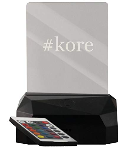 #kore - LED USB Rechargeable Edge Lit Sign