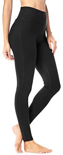 Queenie Ke Women Power Stretch Plus Size High Waist Yoga Pants Running Tights Size XL Color Dream Blue