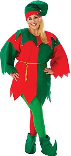 Colorfu Unisex Economy Elf Costume Set