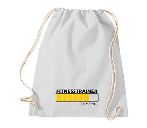 Gym Sack Turnbeutel Loading Fitnesstrainer, Beste Berufe Ausbildung Abschluss Job Kollegen, Spruch Sprüche Tasche Sport Beutel, Farbe Hellgrau
