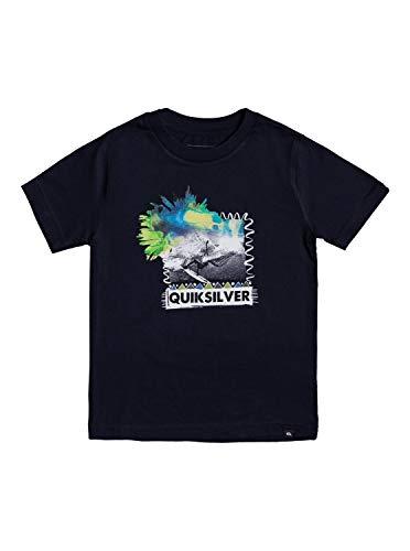 Quiksilver Jungen Wide Eyes Tee Hemd, Marineblau Blazer, 7X