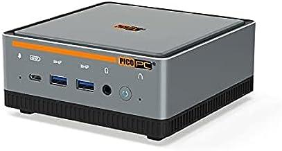 PICOPC Intel i5-10210U 2 LAN 2.5GbE 3 Display Mini PC with Windows 10 Pro, 16GB DDR4 RAM and 256GB SSD Mini Desktop Comput...