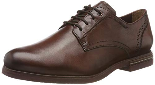 Tamaris 1-1-23208-23, Scarpe Stringate Derby Donna, Marrone (Chestnut 449), 38 EU