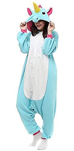 Ghope Animal style kigurumi Licorne Pyjama Adulte Anime pyjamas tenue Onesie Cospaly Fête Flannels Costume Animaux Halloween Enfant Adulte Homme Femme Fille Garçon