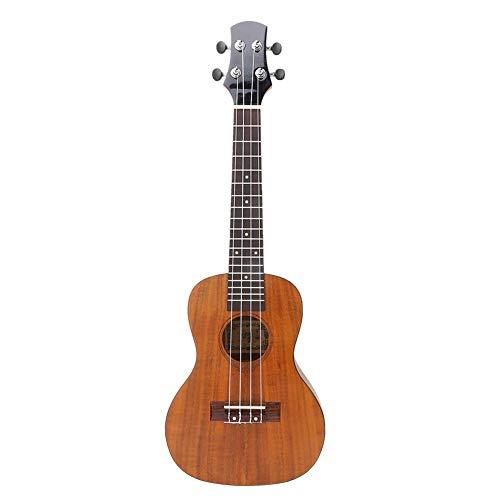 Bnineteenteam Ukelele de Madera de 24 Pulgadas Guitarra de 4 Cuerdas con Bolsa de Transporte Pick Sand Hammer para niños y Principiantes