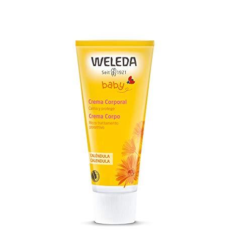 Weleda Calendula Baby Cream - Crema hidratante para el cuerpo, 75 ml