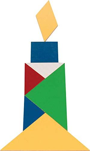 Carlu Brinquedos - Jogo Educativo, 4+ Anos, 35 Peças, Color Multicolorido, 3029