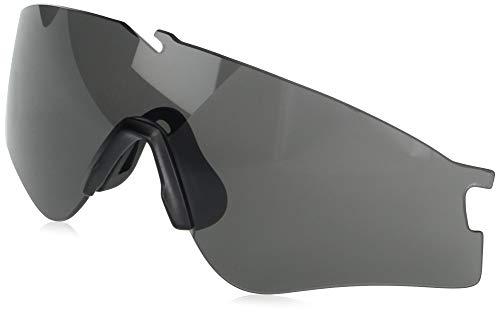 Oakley Men's AOO9296LS Si Ballistic M Frame Alpha Sport Replacement Sunglass Lenses, Grey, 58 mm