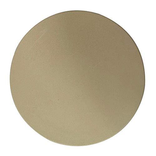 Piedra para hornear pizza Piedra para hornear redonda hecha de cordierita placa de piedra para pizza y pasteles Herramientas para hornear (28cm)