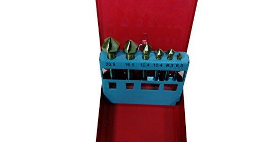 BES 13516 set met 6 frezen voor Tornio-boormachine