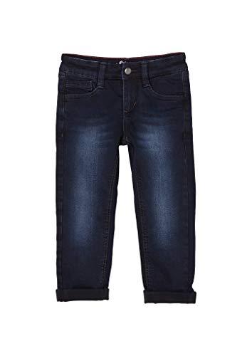 s.Oliver Jungen Slim Fit: Gefütterte Slim Leg-Jeans Dark Blue 116.REG