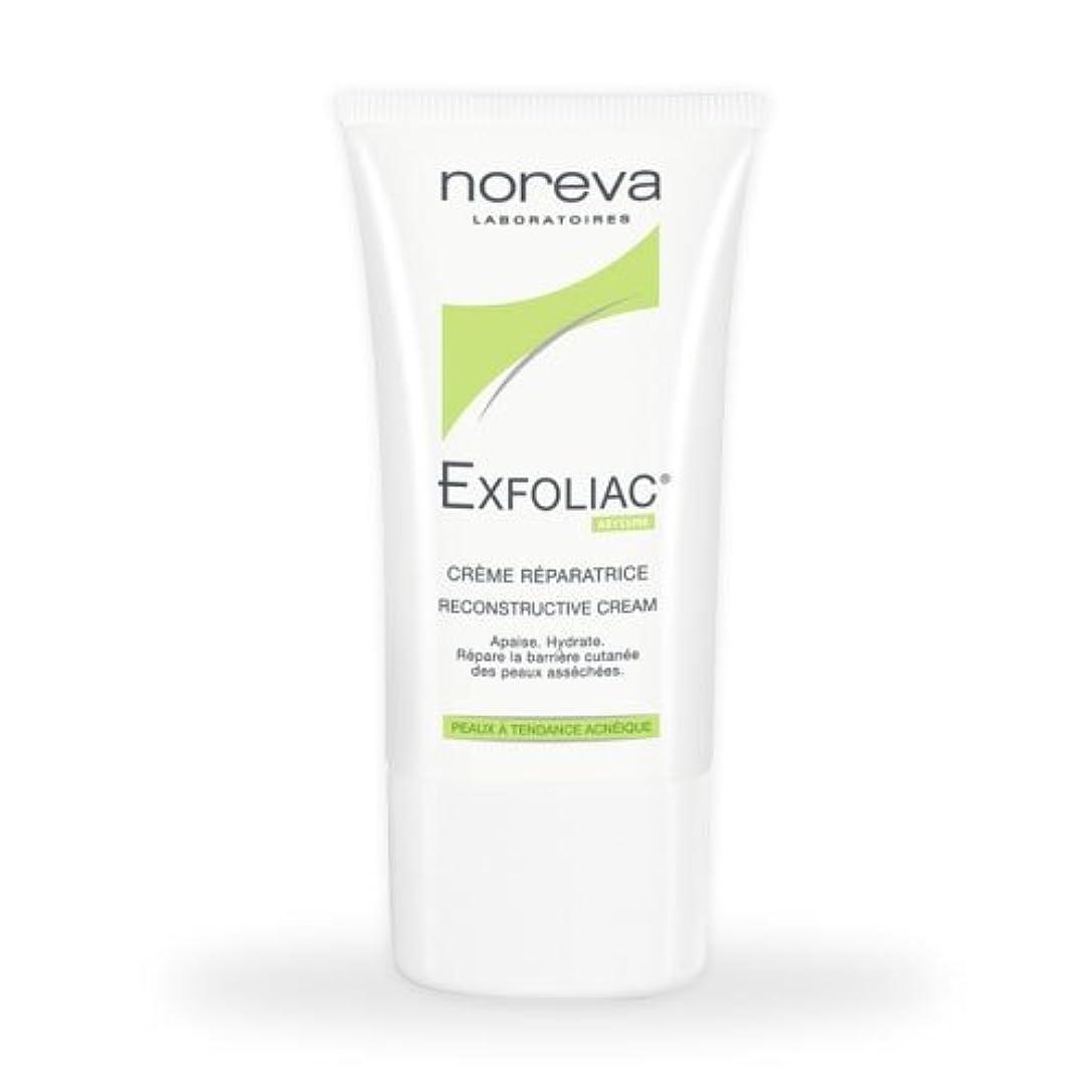 圧倒的お願いしますきらめきNoreva Exfoliac Reconstructive Cream 40ml [並行輸入品]