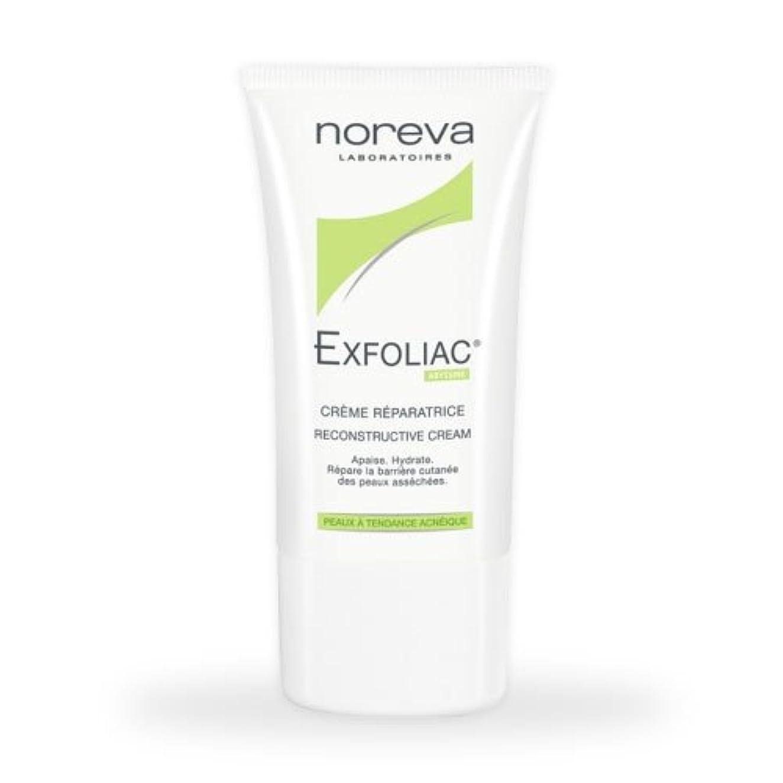 消費者平日ゆでるNoreva Exfoliac Reconstructive Cream 40ml [並行輸入品]