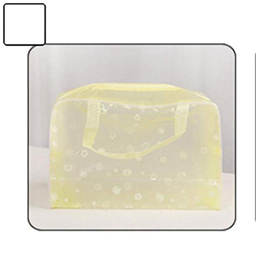 Imperméable à l'eau portable cosmétiques produits de toilette articles de toilette sac de cosmétiques sac de rangement pour brosse à dents jaune