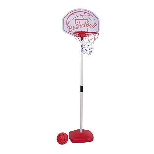 Dunlop 117 cm Kinder Basketballständer Basketballkorb Basketballanlage Basketball mit Ball und Luftpumpe, 8711252101125