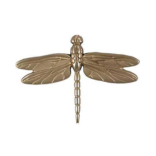 Michael Healy Dragonfly in Flight Door Knocker - Nickel (Standard Size)