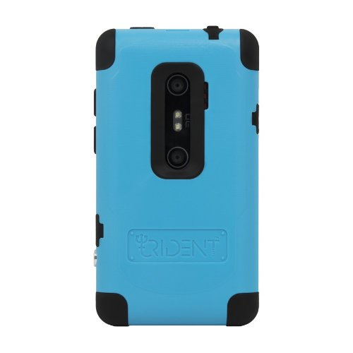 Trident Case for HTC EVO 3D - Cyclops 2 Series-Retail Packaging - Blue