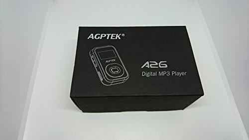 AGPTEK Bluetooth対応 クリップ MP3プレーヤー 小型軽量 音楽プレーヤー ロスレス音質 防汗 耐衝撃 FMラジ...